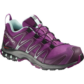 Salomon XA Pro 3D GTX Zapatillas running Mujer, hollyhock/dark purple/eggshell blue
